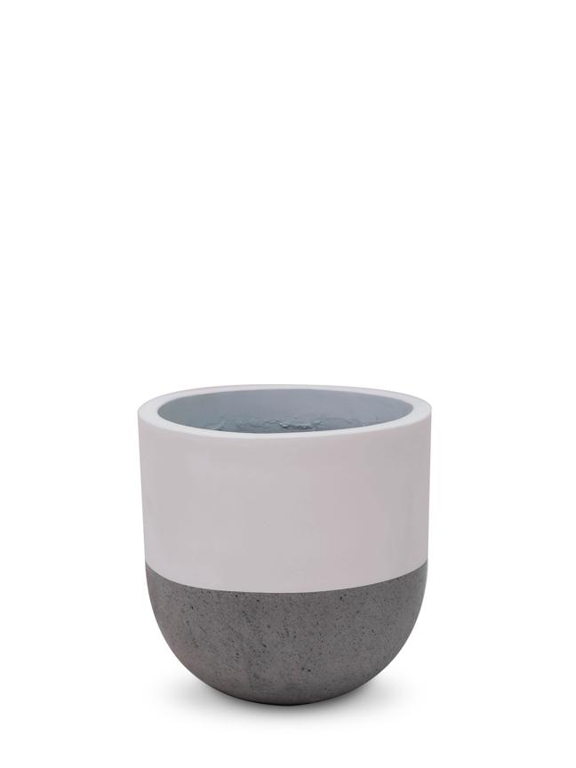Top Pot White (30cm) Pots & Vases