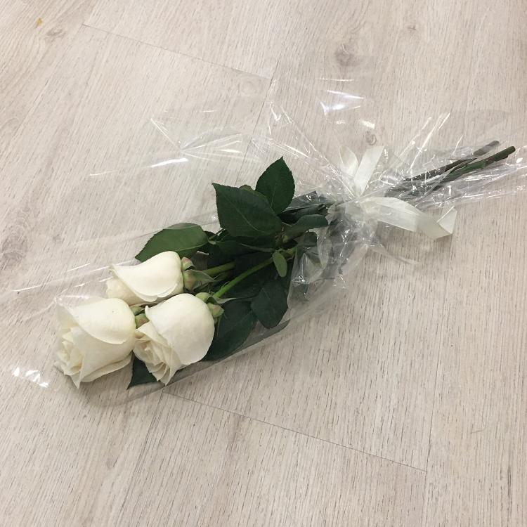 تراي روزز  باقة زهور