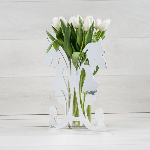 تيوليب ميرور  'زهور مع قاعدة'