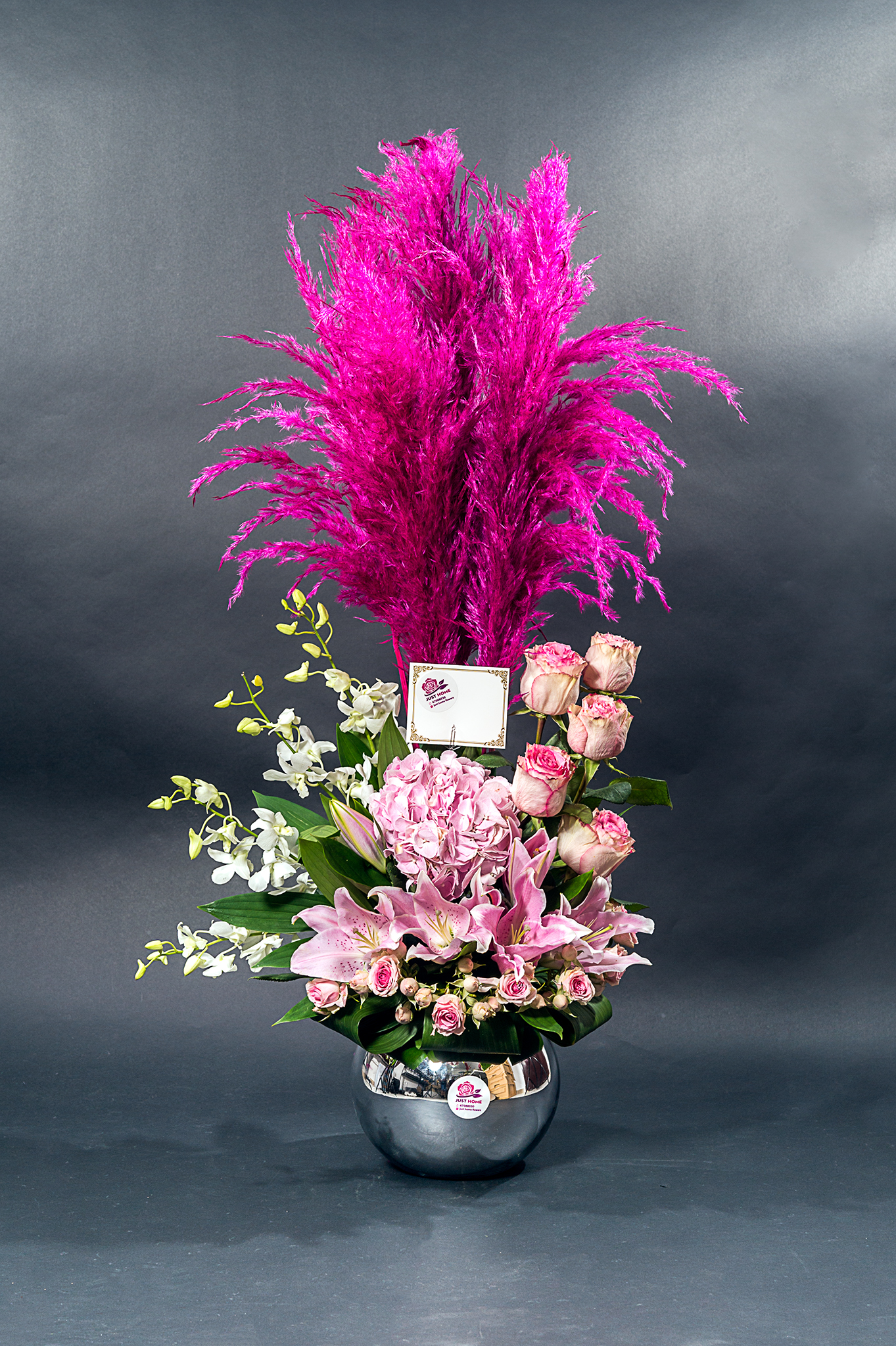 Pretty Pink Love 'Flower with Base'