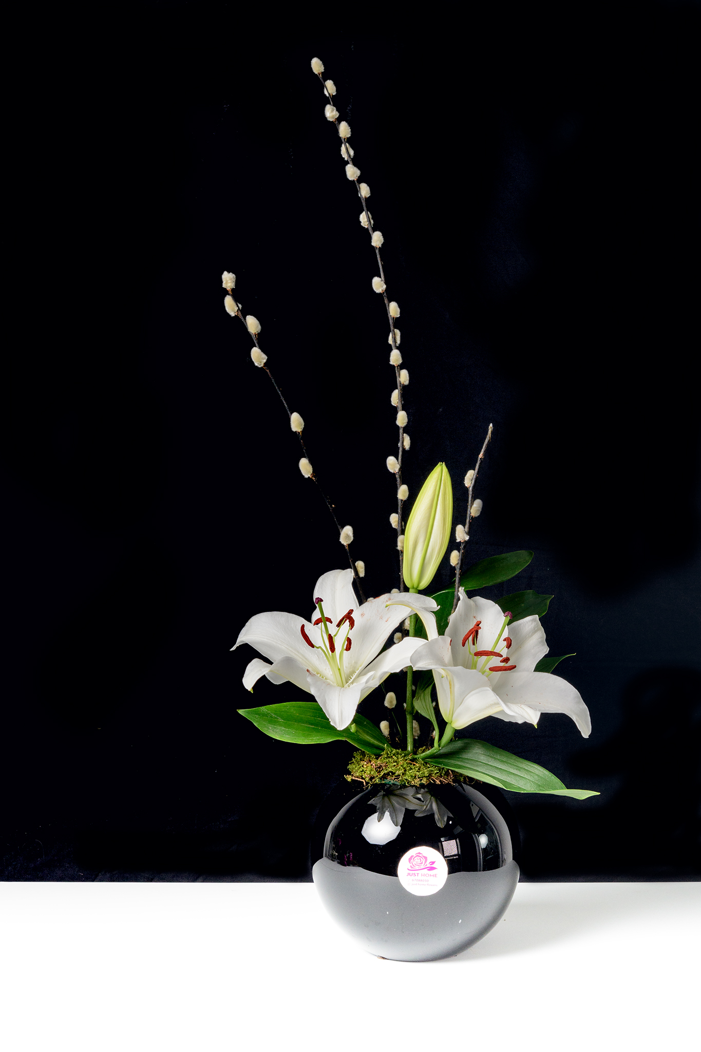 Beautiful Love 'Flower with Base'