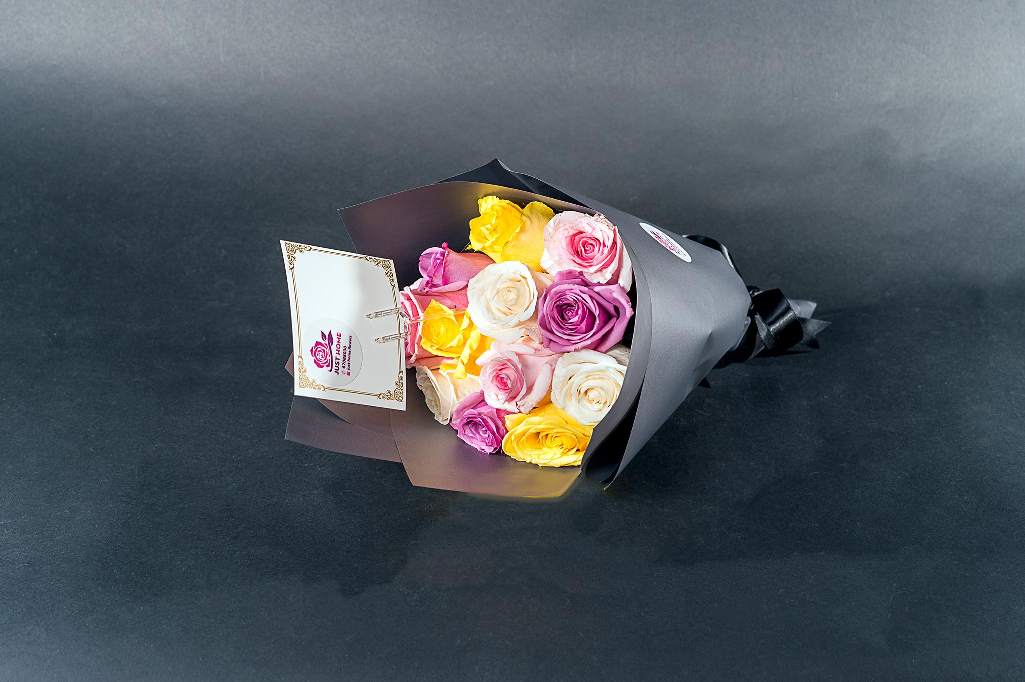 أنا أعشقك 'باقة زهور'