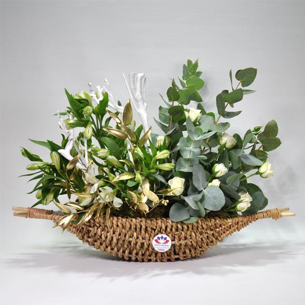 جاردن بوت 'زهور مع قاعدة'