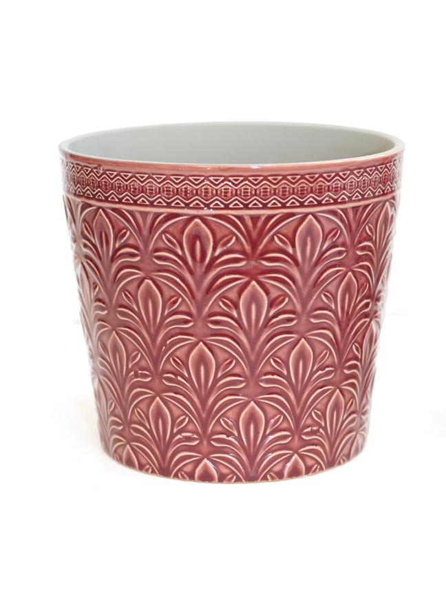 Duke Pot Round D. Pink 18.5 'Pots & Vases'