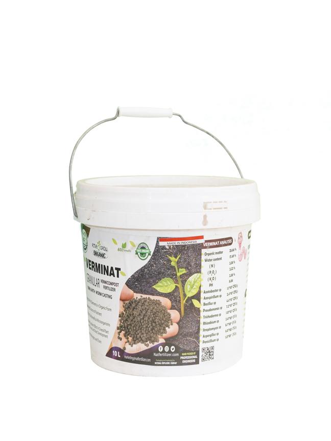 Verminat Granular - Vermicompost Fertilizer   'Soil Fertilizer Pesticide'