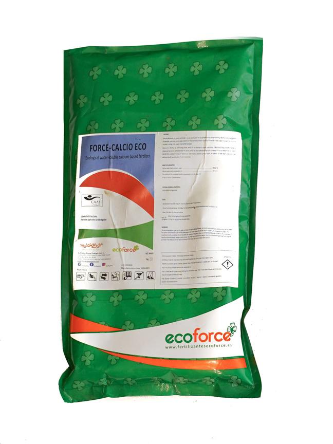 FORCE CALCIO ECO - 1 KG 'Soil Fertilizer Pesticide'