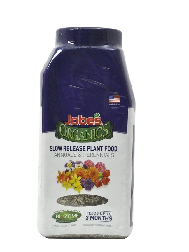 SLOW RELEASE - ANNUALS & PERENNIALS Soil Fertilizer Pesticide