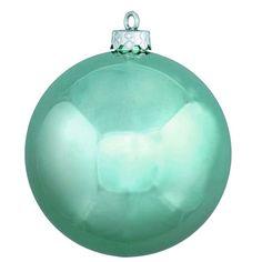 Christmas Ball - Shiny Mint Holiday Season