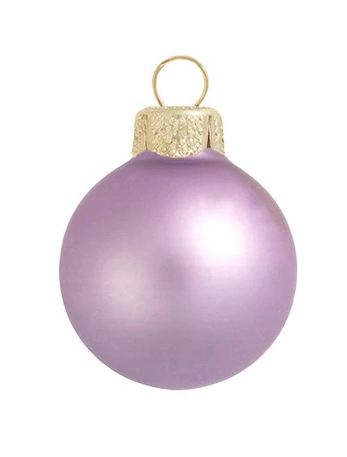 Christmas Ball - light Matt purple  Holiday Season