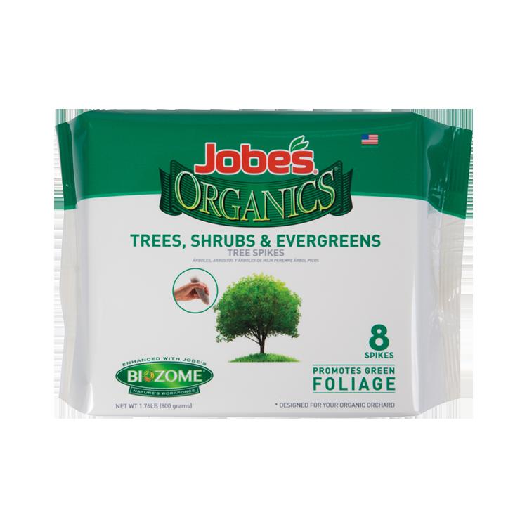 ORGANIC TREE & SHRUB SPIKES 'Soil Fertilizer Pesticide'
