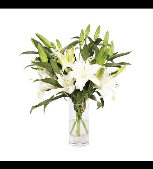 Elegant Flowers In A Vase  'Flower with Base'
