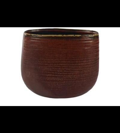 iris rust Planter  Pots & Vases