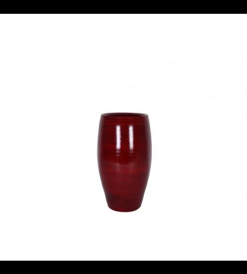 Cresta Pot - Deep Red  Pots & Vases