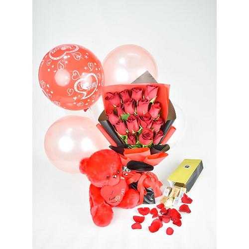 valentine's day Gift  Red Love