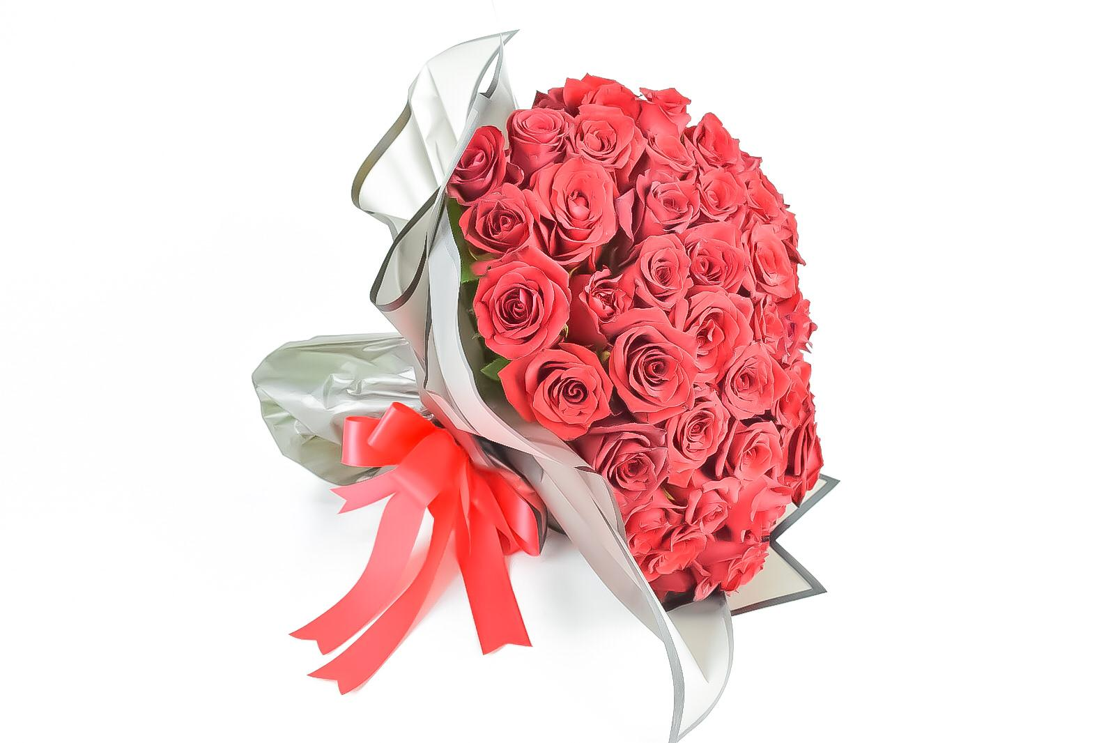 Red Rose Hand Bouquet Red Love