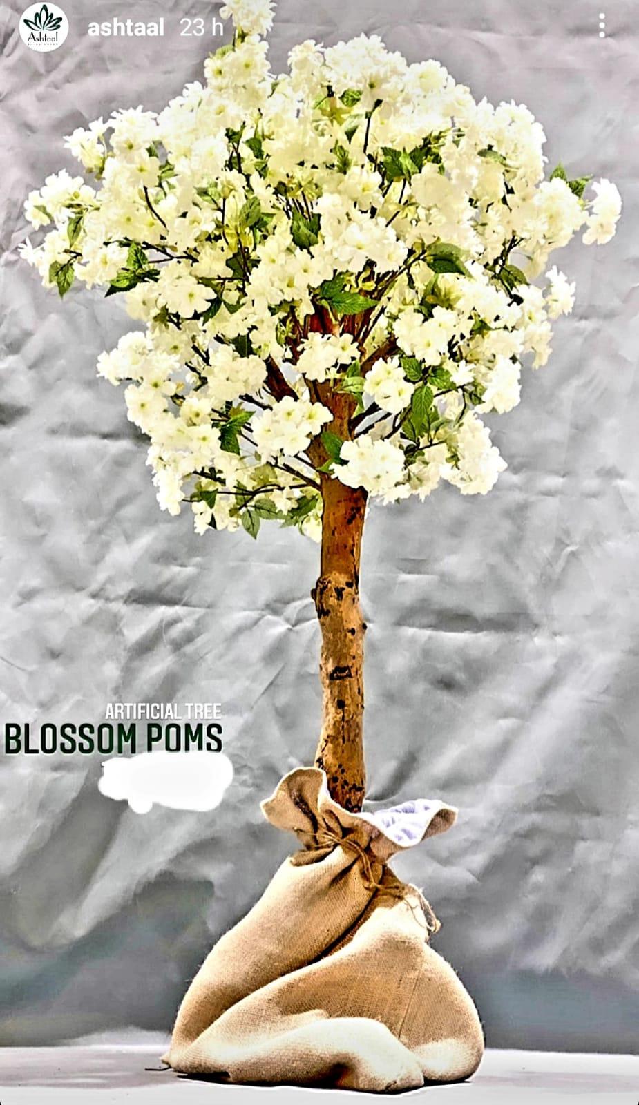 Blossom Poms Artificial Plants