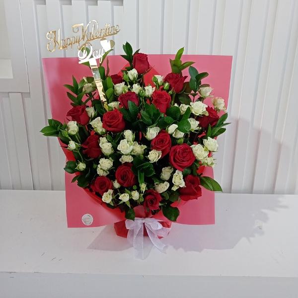 Valentines Day Bouquet Red Love