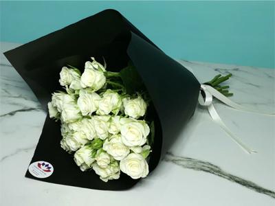 الجمال الأبيض 2 باقة زهور