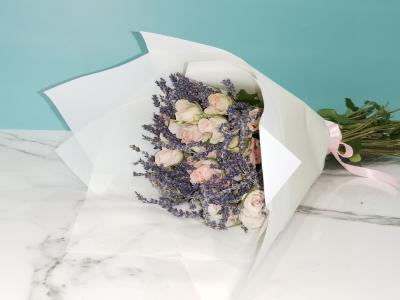 بوكيه اللافندر باقة زهور