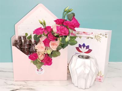 Flower Letter and Mubkhar  Combo Pack