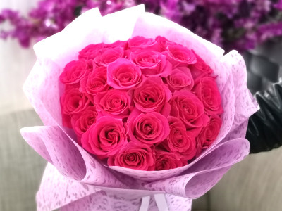 Dark Pink Beauty Bouquets