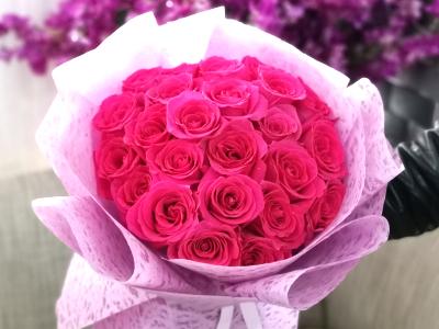 جمال وردي غامق باقة زهور