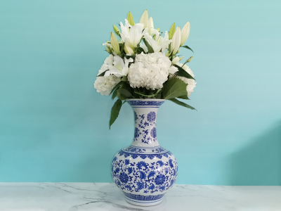 Lilium Grand Vase Get Well Soon