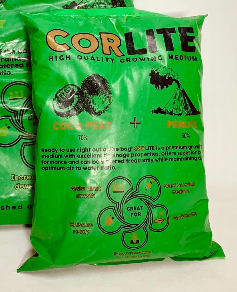 Corlite - Growing Medium 20 Liter Soil Fertilizer Pesticide Soil