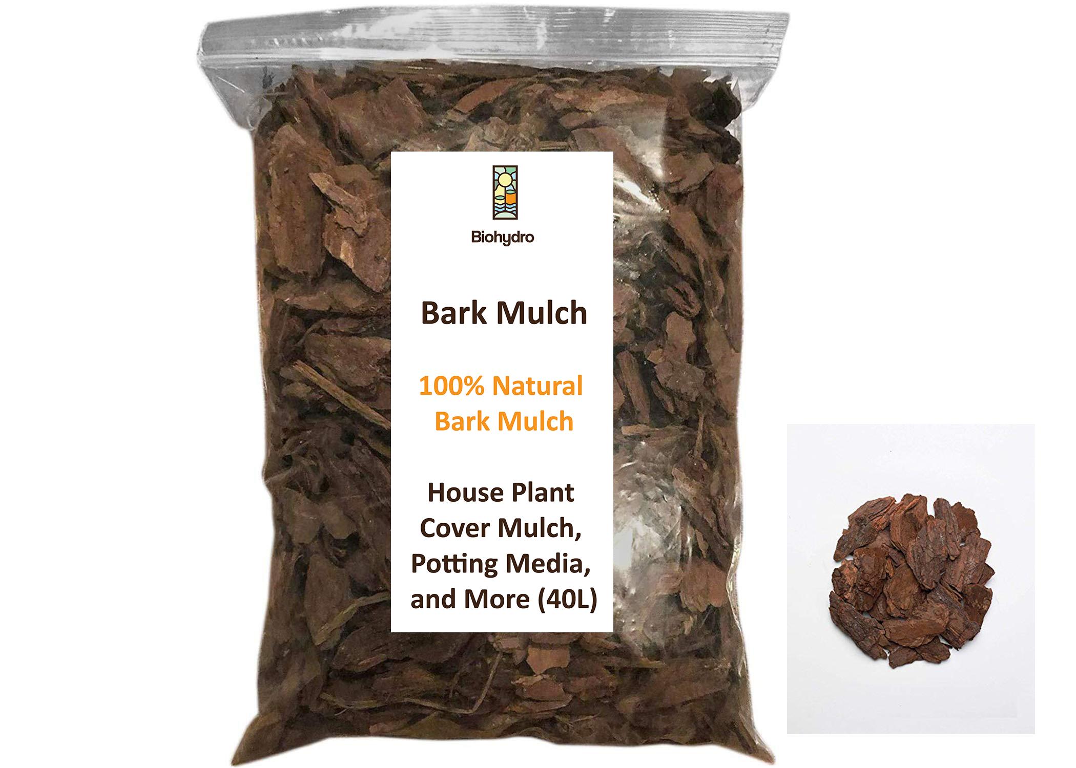 Bark Mulch 40L Soil Fertilizer Pesticide