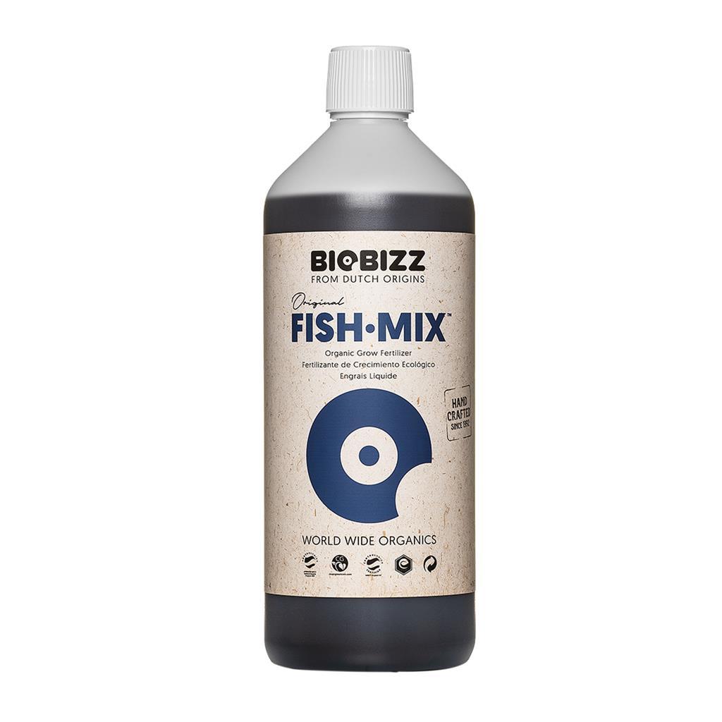 Biobizz Fish Mix 1L Soil Fertilizer Pesticide