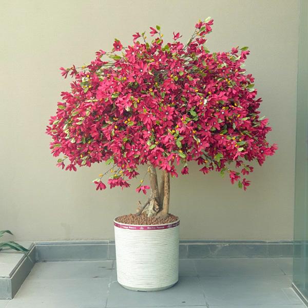 الشجرة الحمراء نباتات اصطناعية
