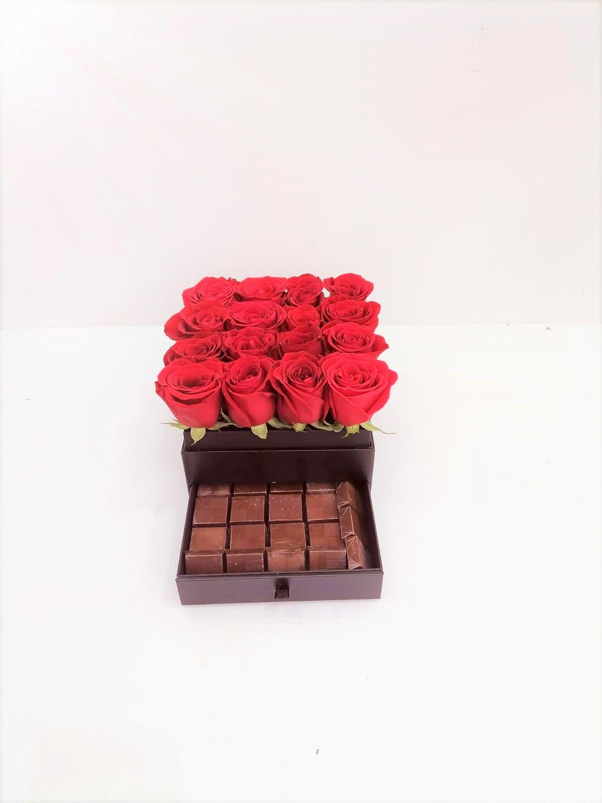 شوكولاتة ريد بوكس الحب الأحمر