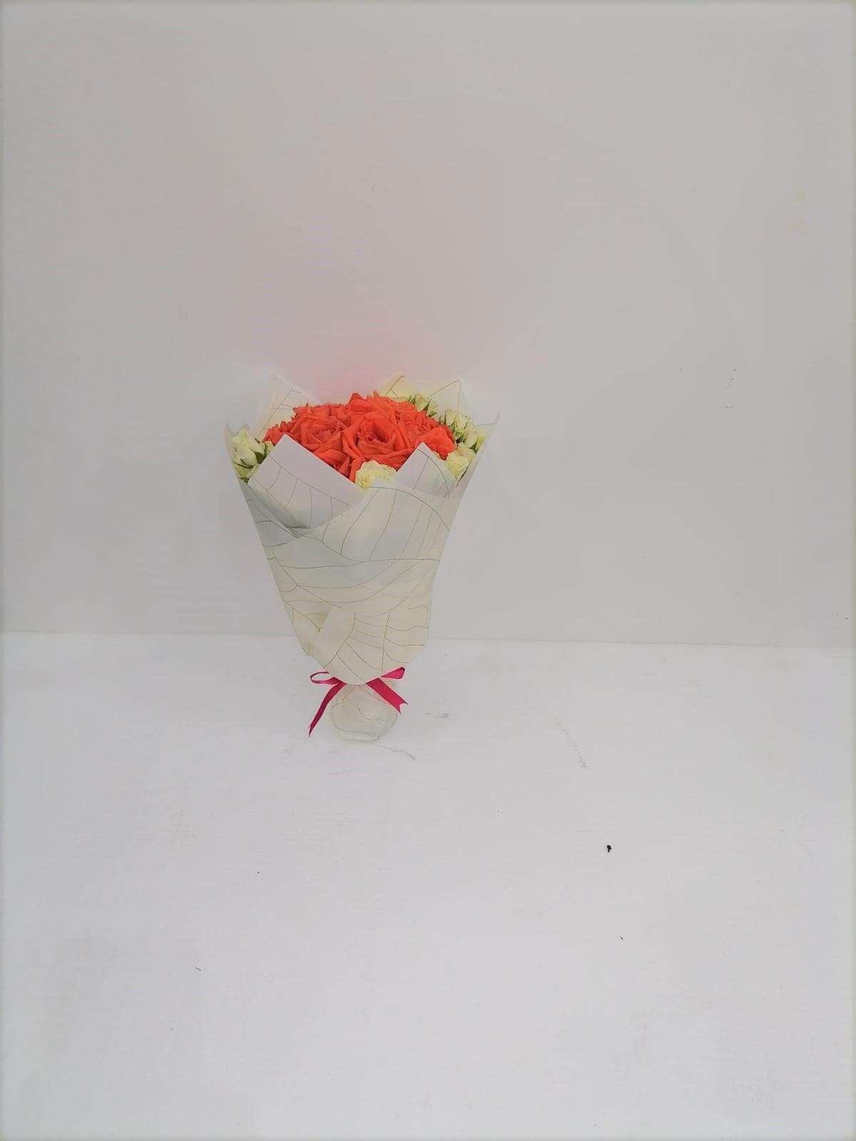 orange beauty bouquet  Bouquets