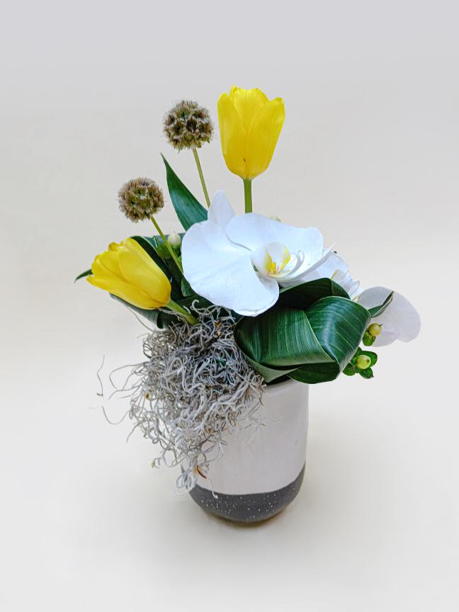 كلاسي باقة زهور