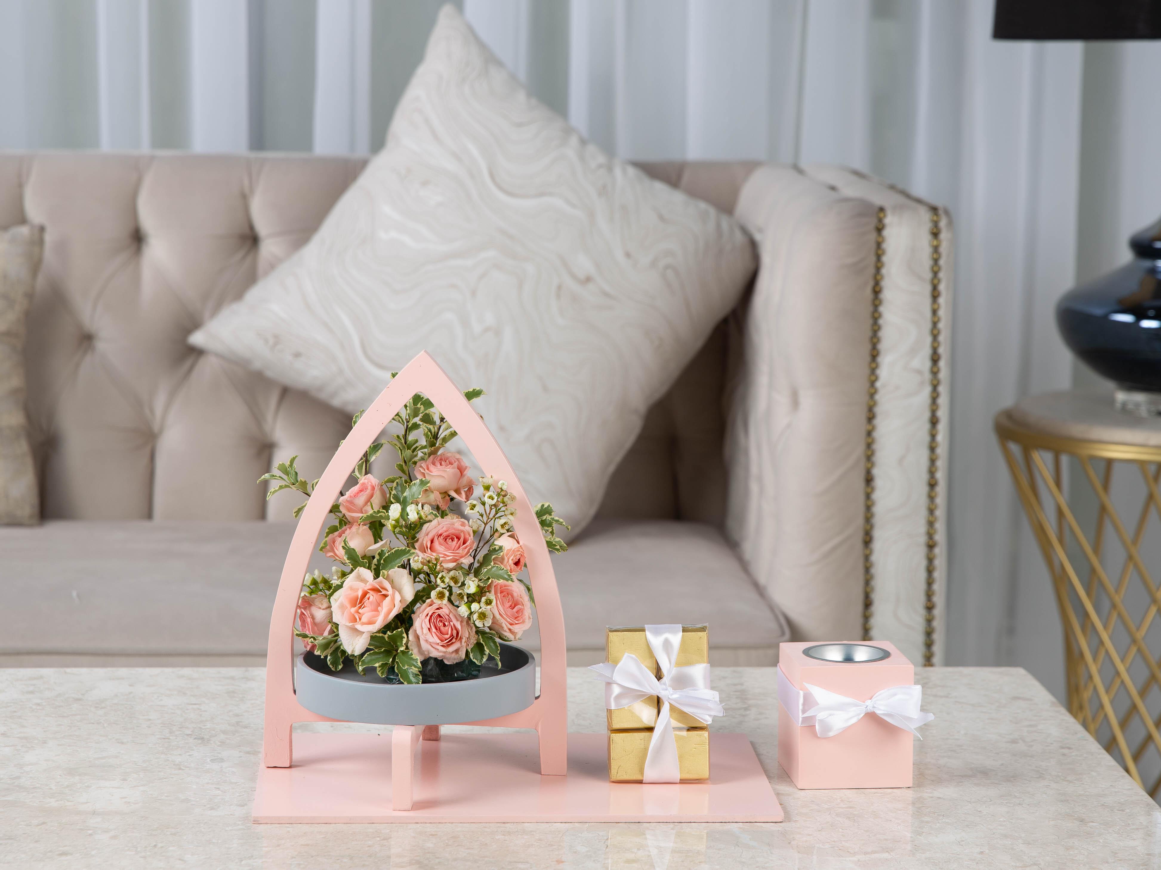 Swarovski Flower with Base