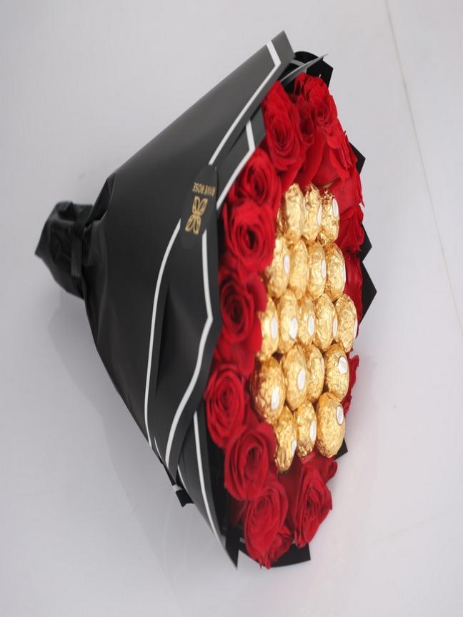 Ferrero Rose Bouquet Bouquets