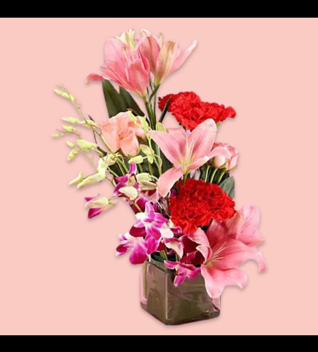 تنسيق زهور الحب نتمنى لك الشفاء العاجل