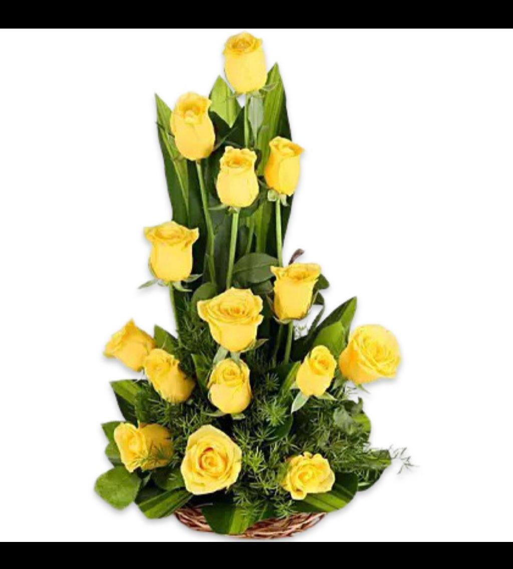 تنسيق العرش زهور مع قاعدة