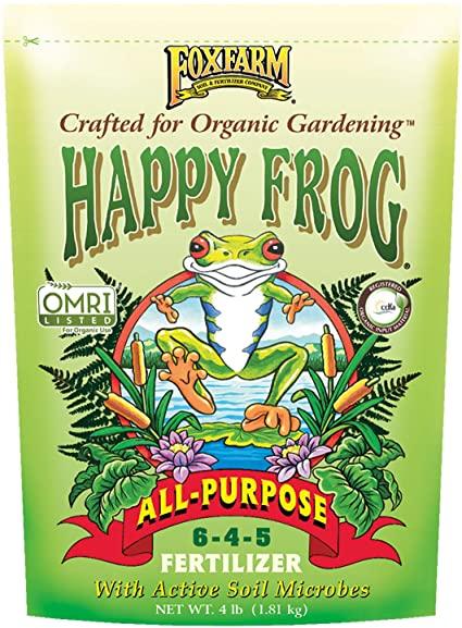 Happy Frog All Purpose Dry Fertilizer 4lb Soil Fertilizer Pesticide