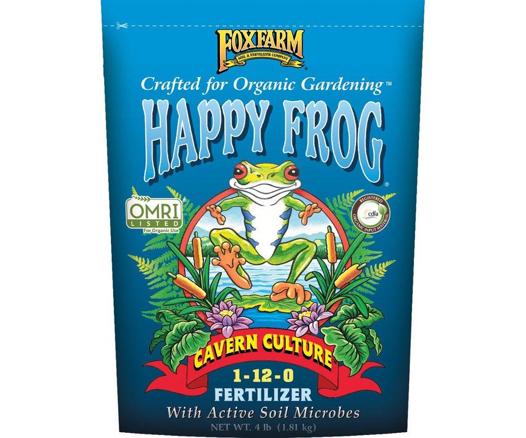 Happy Frog Cavern Culture Dry Fertilizer 4lb 'Soil Fertilizer Pesticide'