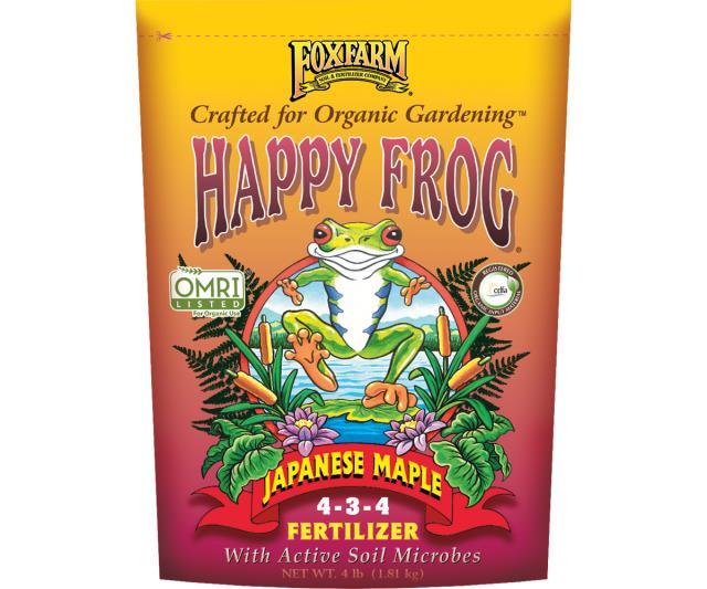 Happy Frog Japanese Maple Dry Fertilizer 4lb 'Soil Fertilizer Pesticide'
