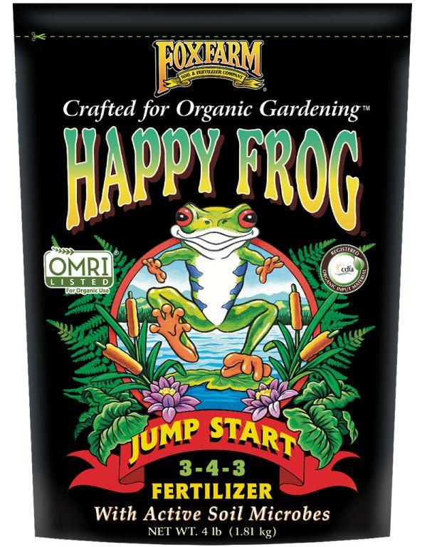 Happy Frog Jump Start Dry Fertilizer 4lb 'Soil Fertilizer Pesticide'