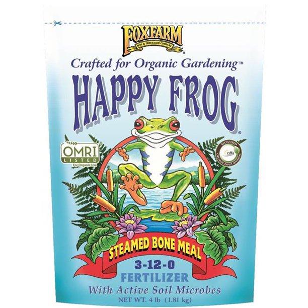 Happy Frog Steamed Bone Meal Dry Fertilizer 4lb 'Soil Fertilizer Pesticide'