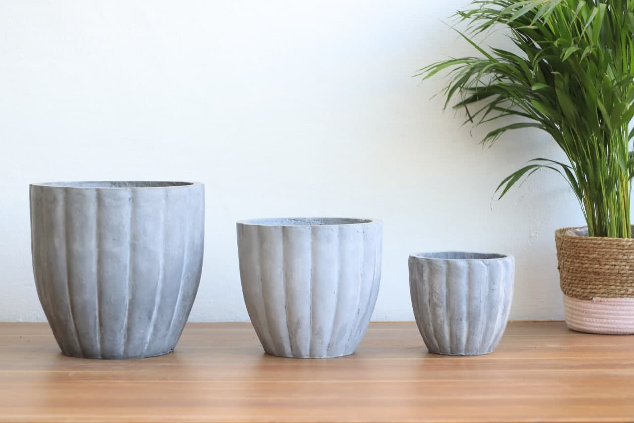 Cement Pot BN1004 Small Pots & Vases