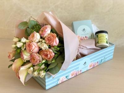 حلوى الزهور