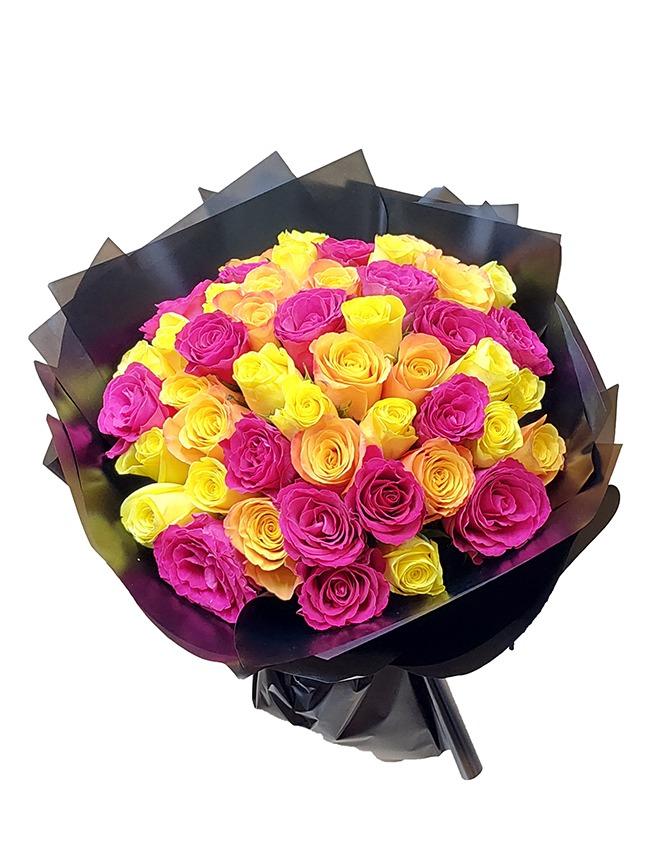 50ميكس روز  Hand Bouquets AR